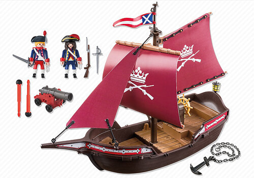 Playmobil Pirates Soldiers' Patrol Boat 6681 #3