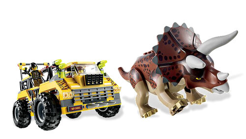 Lego Triceratops Trapper #5