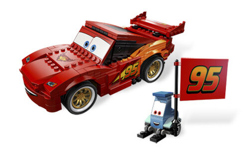 Lego Ultimate Build Lightning McQueen #5