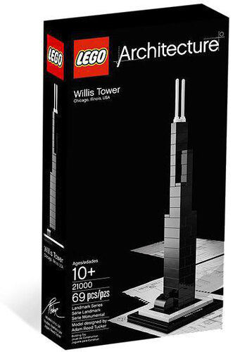 Lego Willis Tower #4