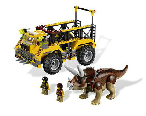 Lego Triceratops Trapper #2