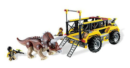 Lego Triceratops Trapper #3