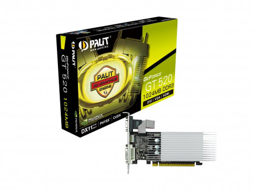 Palit GeForce GT 520 - 3