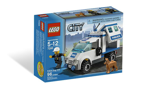Lego Police Dog Unit #6