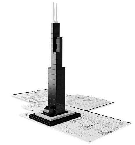 Lego Willis Tower #5