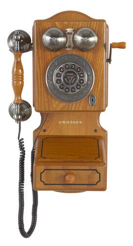 Bedienungsanleitung Crosley Country Kitchen Wall Phone 2 Seiten