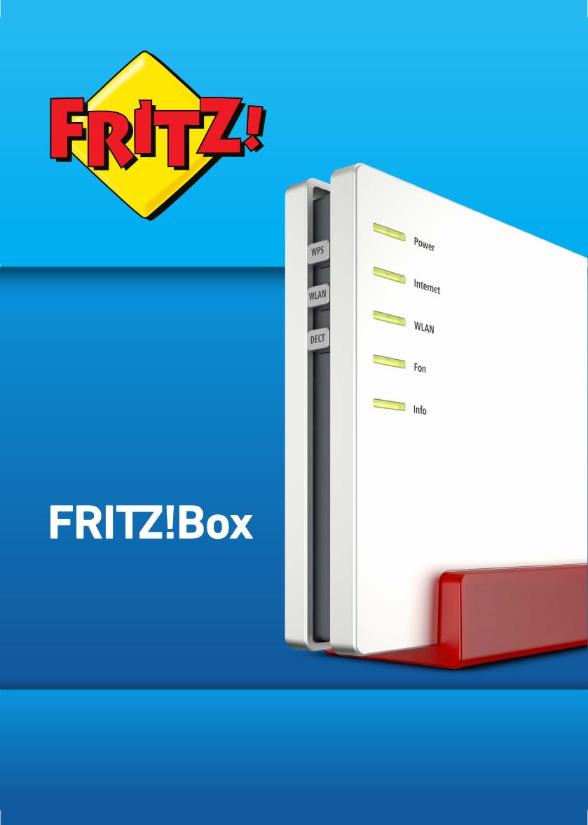 Bedienungsanleitung AVM FRITZBox 20 20 Seiten