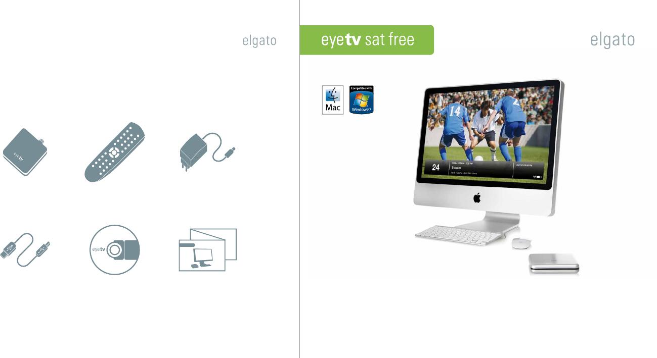 📖 Bedienungsanleitung Elgato EyeTV Sat Free (2 Seiten)