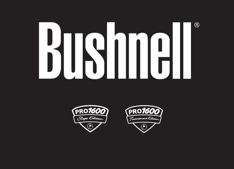 Bushnell Entfernungsmesser Bedienungsanleitung : Bushnell pro tournament bedienungsanleitung