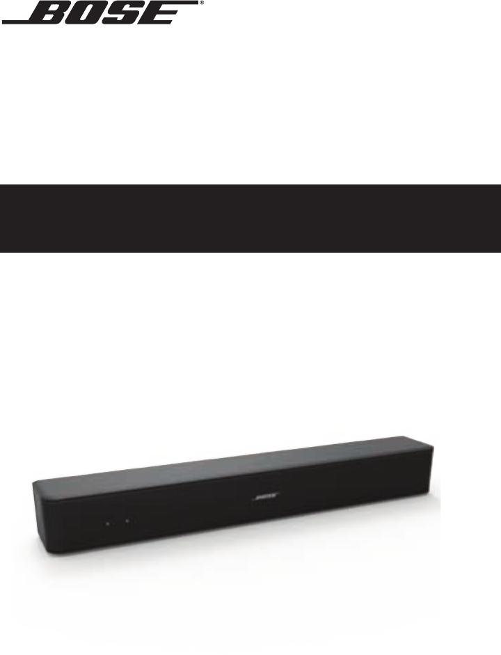 Bose Soundbar Solo 5 Bedienungsanleitung Download Manual Guide