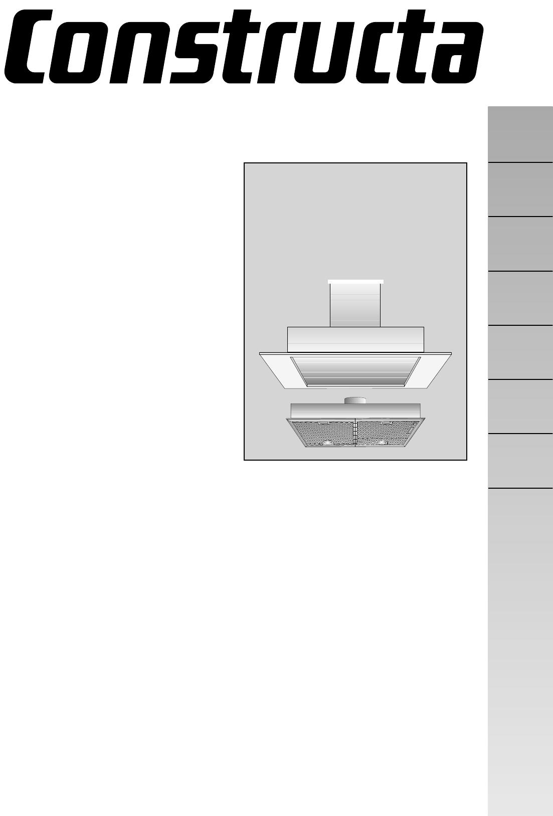 Constructa Dunstabzugshaube Umluft 2021