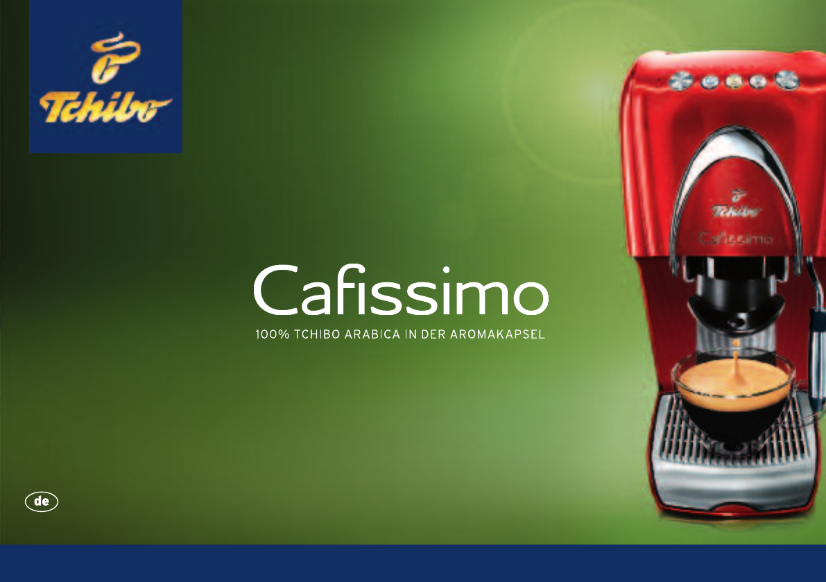 tchibo cafissimo classic bedienungsanleitung