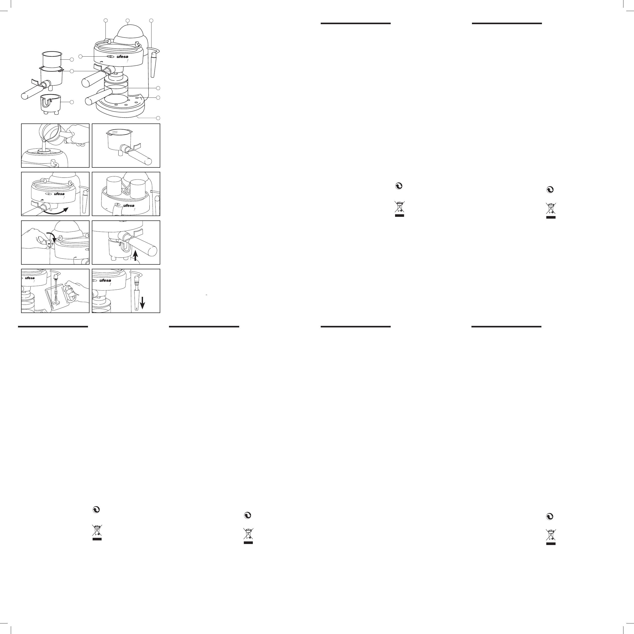 Ufesa Ce7115 Bedienungsanleitung