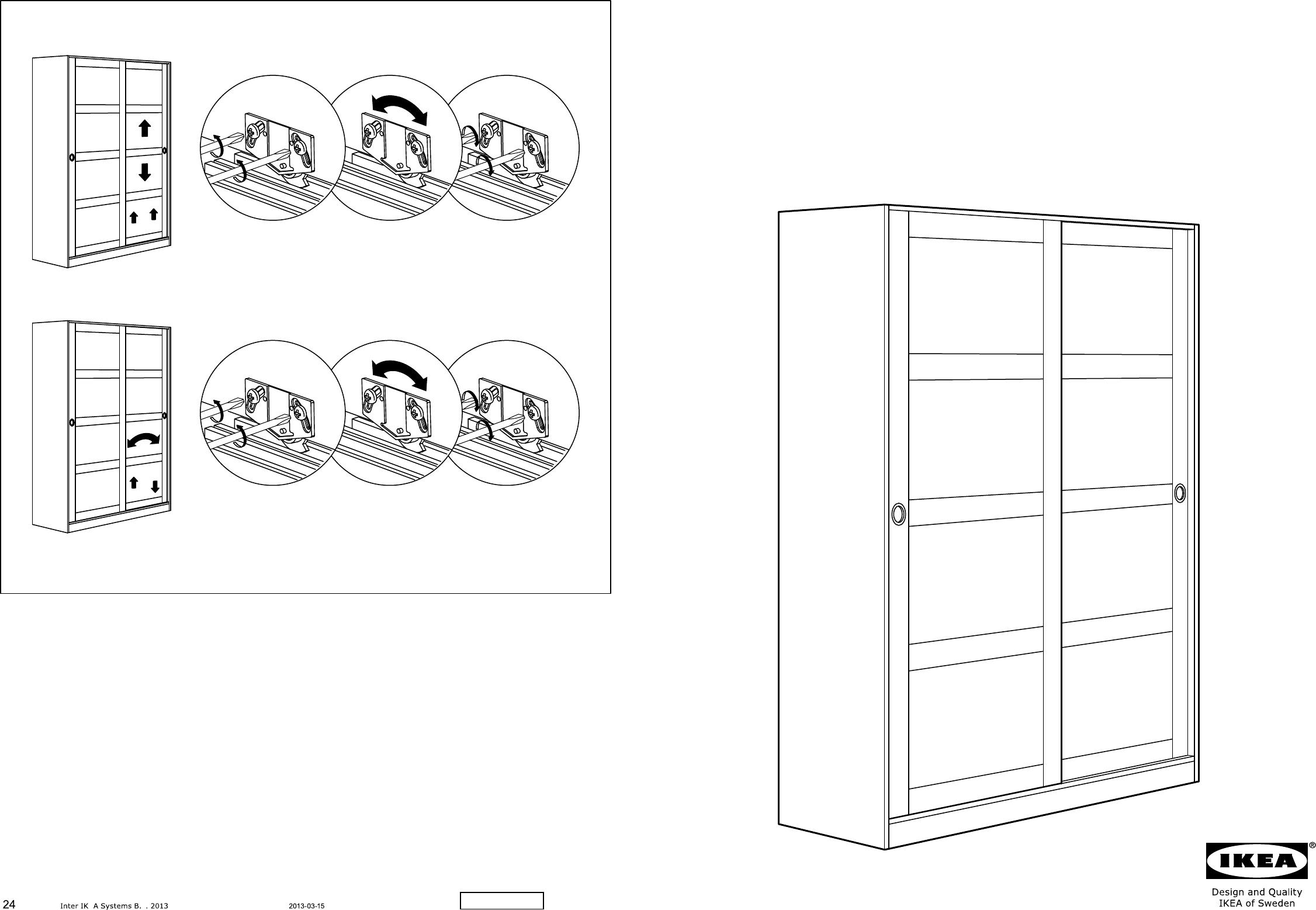 Bedienungsanleitung Ikea Kvikne 12 Seiten