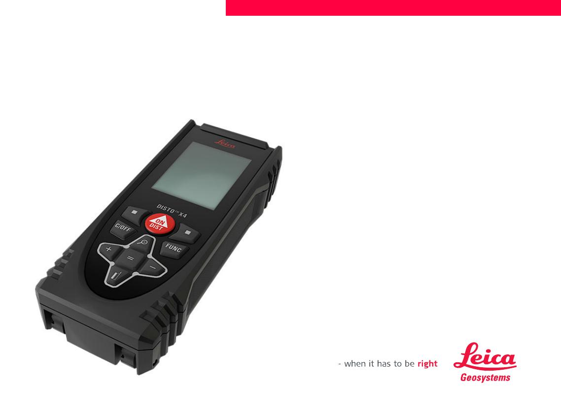 Leica Entfernungsmesser X310 : Leica disto bedienungsanleitung