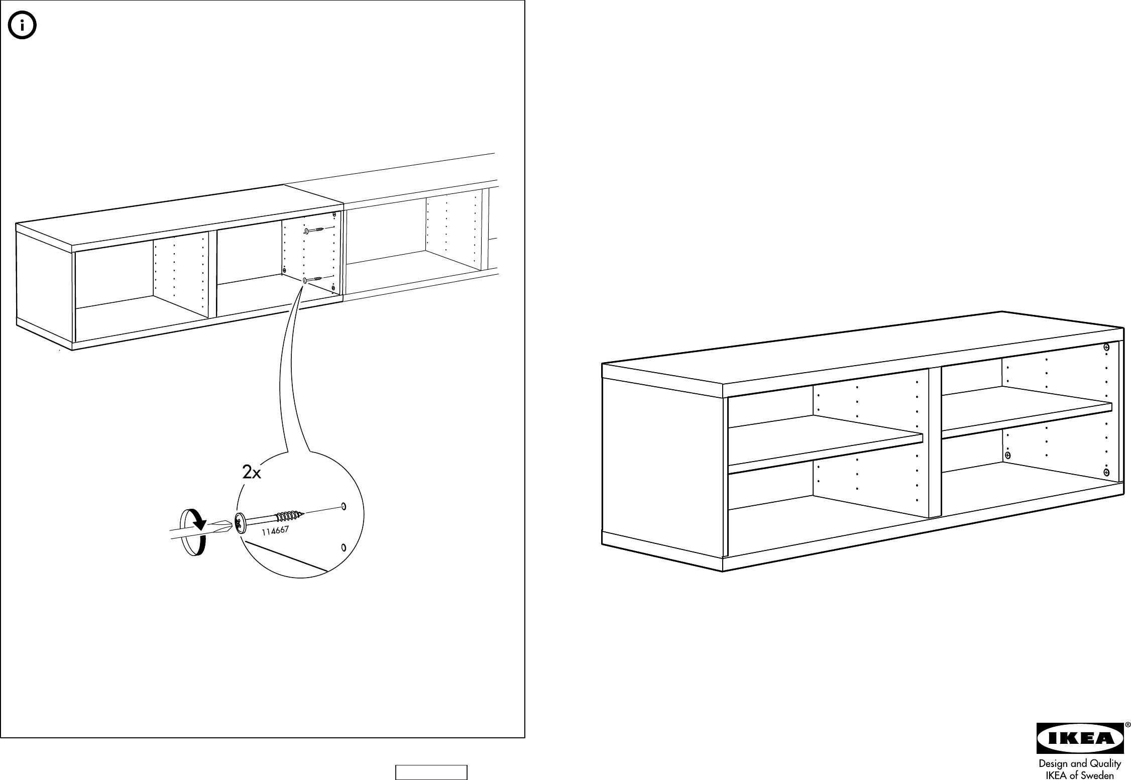 Bedienungsanleitung Ikea Besta 8 Seiten