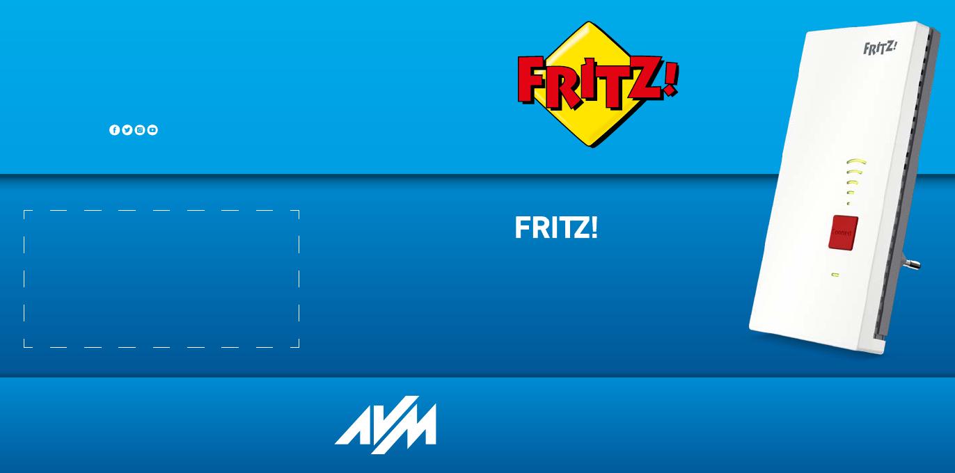 Bedienungsanleitung AVM FRITZRepeater 20 Deutsch   20 Seiten